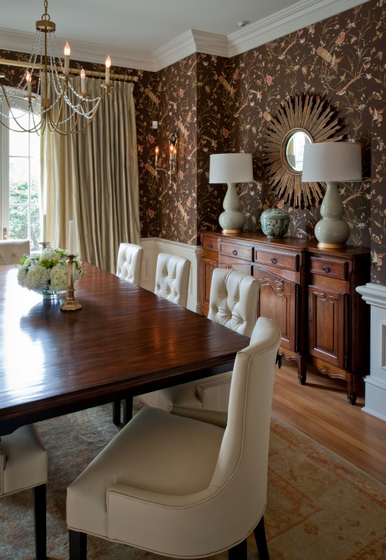 Residential v laura casey interiors for Dining room interior design 2016