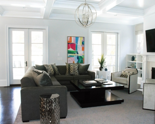 Charlotte Interior Designer Family Room 101