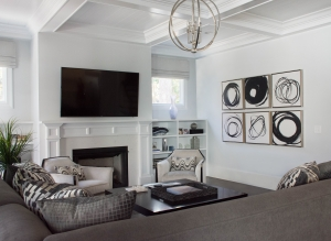 Charlotte Interior Designer Family Room 102