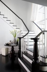 black-banister-elegant