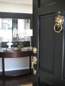 gray-door
