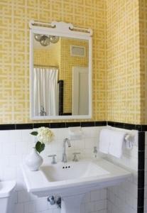 yellow-wallpaper-bathroom