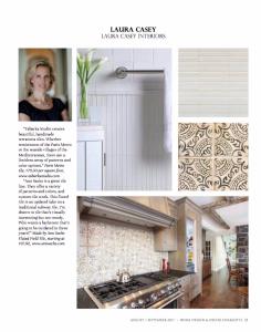 Laura Casey Interiors Charlotte Interior Designer Magazine Feature