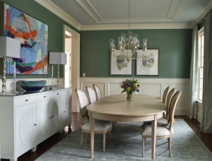 Laura Casey Interiors Dining Room